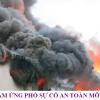 Cách xử lý sự cố cháy hóa chất trong khu dân cư
