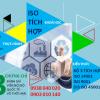 Khoá học ISO tích hợp (ISO 14001, ISO 9001 & ISO 45001) – Nhận thức và đánh giá HTQL ISO tích hợp