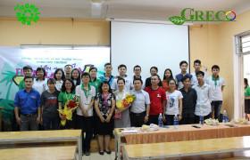 GRECO tài trợ cuộc thi TƯƠNG LAI XANH