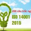 Trắc nghiệm ISO 14001:2015