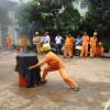 Diễn tập ứng phó sự cố hỏa hoạn cấp độ I