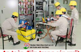 Biện pháp an toàn điện trong sản xuất