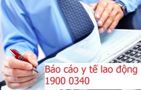 Báo cáo y tế lao động
