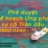 Kế hoạch ứng phó sự cố tràn dầu: Ai được phép phê duyệt?