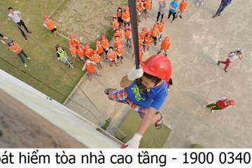 Khóa học thoát hiểm trong tòa nhà cao tầng