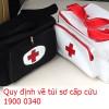 Túi sơ cấp cứu gồm những gì ?