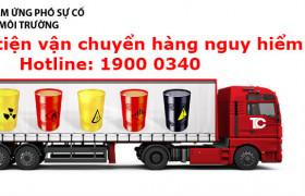 Yêu cầu đối với phương tiện vận chuyển hàng hoá nguy hiểm