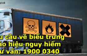 Xếp, dỡ hàng hoá nguy hiểm trên phương tiện và lưu kho bãi hàng hóa nguy hiểm