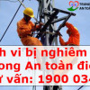 Các hành vi bị nghiêm cấm trong An toàn điện