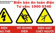 Phân loại biển báo An toàn điện