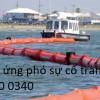 Theo dõi diễn biến ô nhiễm môi trường do sự cố tràn dầu biển