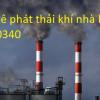 Sàn thao tác lấy mẫu khí thải