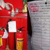 Công tác kiểm tra, bảo dưỡng bình chữa cháy trong an toàn cháy cho nhà và công trình