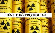 Dấu hiệu cảnh báo bức xạ ion hóa
