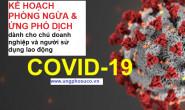 Kế hoạch phòng ngừa ứng phó dịch Covid 19 cho doanh nghiệp và người sử dụng lao động