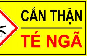 TRẮC NGHIỆM AN TOÀN TRƯỢT, TÉ, NGÃ (SLIP, TRIP, FALL)