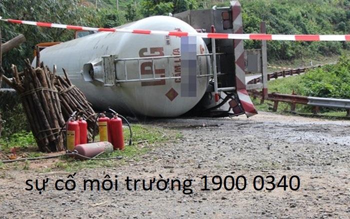 Sự cố môi trường vận chuyển hàng nguy hiểm