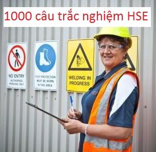Trắc nghiệm an toàn lao động HSE