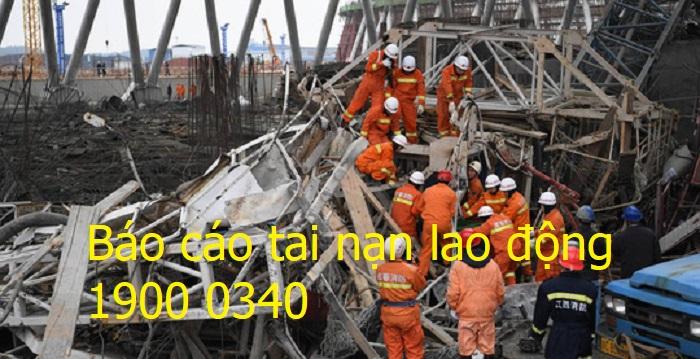 Báo cáo tai nạn lao động