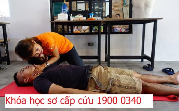 Huấn luyện khóa học sơ cấp cứu