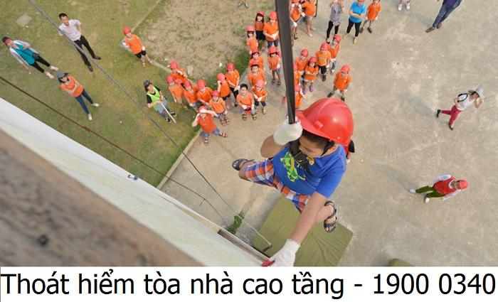 Thoát hiểm tòa nhà cao tầng