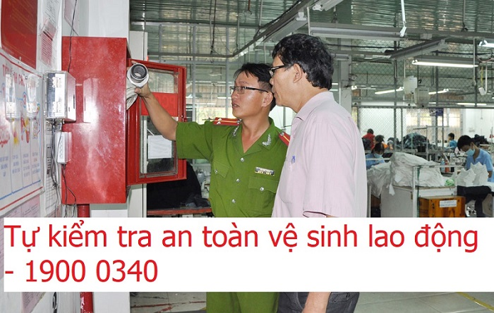 tự kiểm tra an toàn vệ sinh lao động
