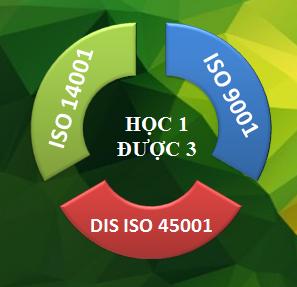 Khoá học ISO tích hợp (ISO 14001, ISO 9001 & ISO 45001)