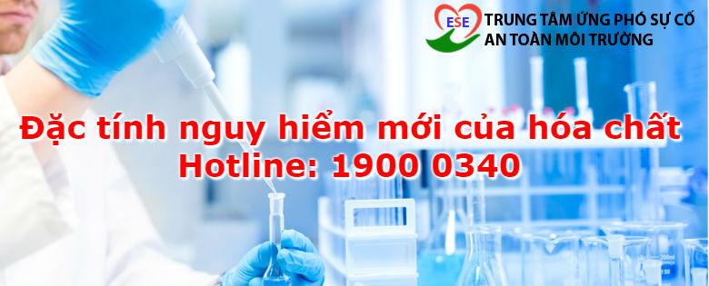 Đặc tính nguy hiểm mớilà đặc tính nguy hiểm được phát hiện nhưng chưa được ghi trong phiếu an toàn hóa chất