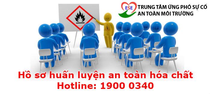 Hồ sơ huấn luyện an toàn hóa chất là yêu cầu ban hành kèm theo Nghị định113/2017/NĐ-CP về định kỳ đào tạo và sau đó lưu lại làm hồ sơ huấn luyện an toàn