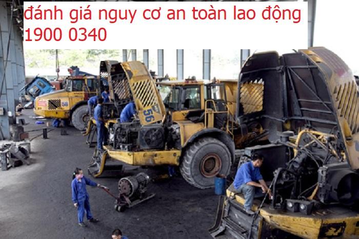 Đánh giá nguy cơ an toàn lao động