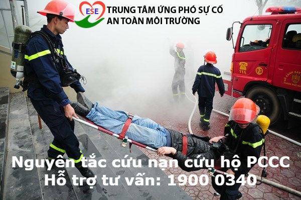 Nguyên tắc cứu nạn cứu hộ phòng cháy chữa cháy