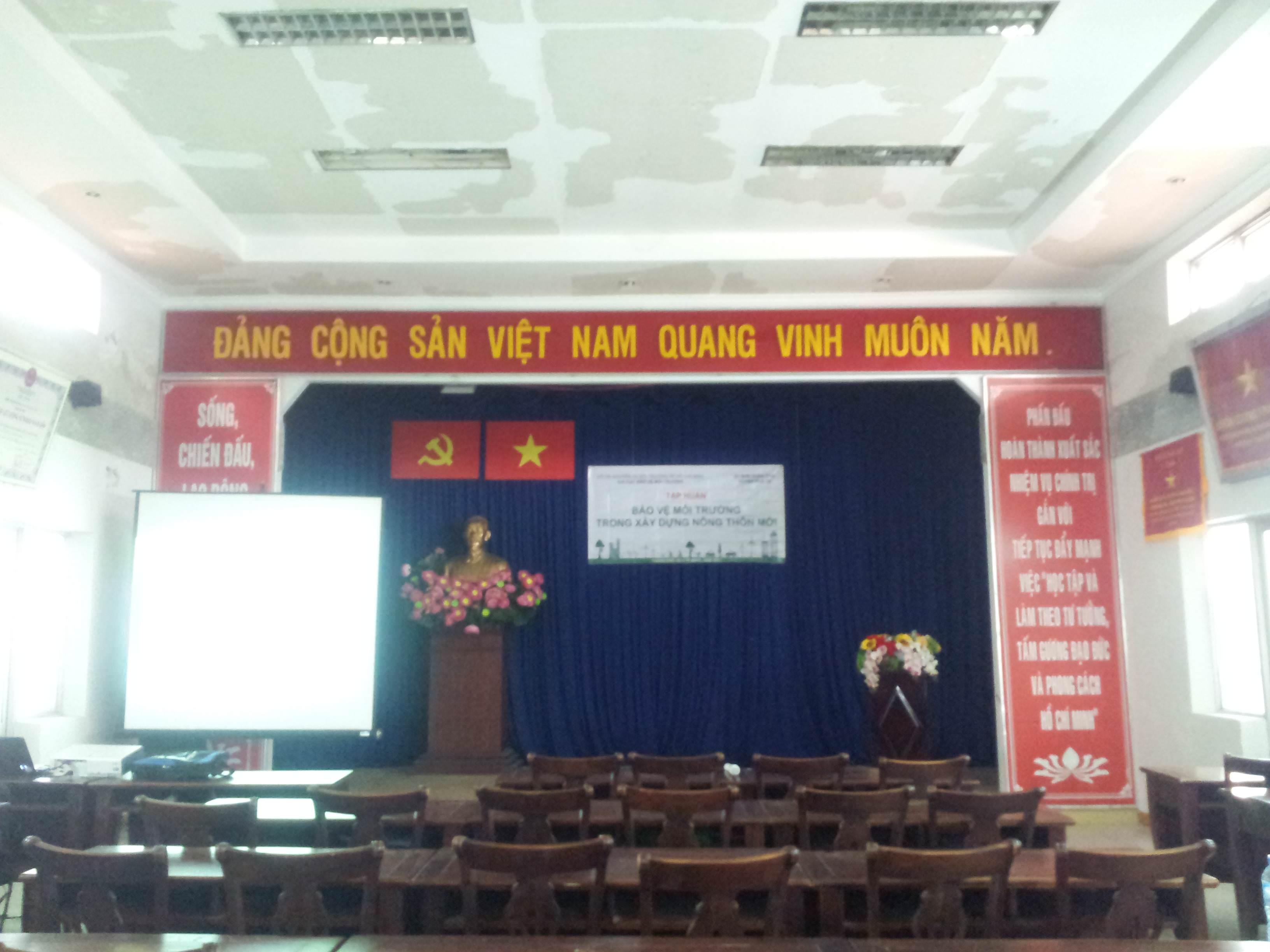 Buổi tập huấn bảo vệ môi trường tổ chức bởi Chi cụcBảo vệmôi trườngThành phố Hồ Chí Minh, thực hiện bởi Công ty Cổ phần Phát triển GRECO đồng phối